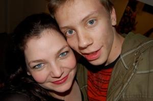 Kimberly Kinrade and Dmytry Karpov